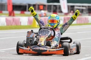It was the third triumph for Gianluca Petecof in Mini Max (Photo: Studio52.us)