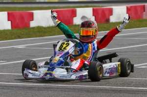 Matheus Morgatto drove to a Micro Max victory during Round Five action, finishing the season second in the standings (Photo: Ken Johnson - Studio52.us)