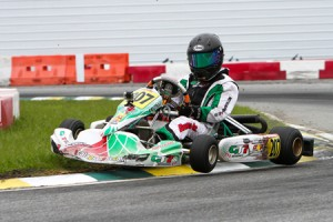 """Anthony Gangi Jr. earned the Saturday """"Hard Charger"""" award and also claimed tenth in the overall Rotax Junior point standings while at the FWT finale in Orlando (Photo: Studio52.us)"""