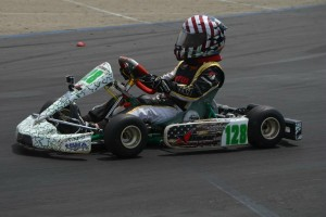 Trey Brown had a terrific weekend at round three of the LAKC. Brown made a clean sweep and won both TaG Cadet and Junior 1 Comer (Photo: LAKC.org)