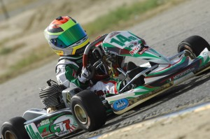 Early favorite in the new Mini Rok Cadet class is Dylan Tavella (Photo: On Track Promotions - otp.ca)