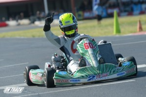 California driver Jake Craig outran and outlasted the wild TaG Senior field (Photo: On Track Promotions - otp.ca)