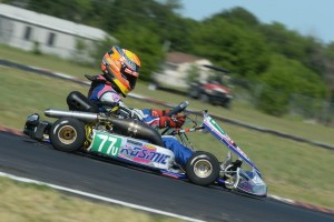 Versteeg drove to a pair of fourth place finishes in his Superkarts! USA Pro Tour S5 debut (Photo: On Track Promotion - otp.ca)