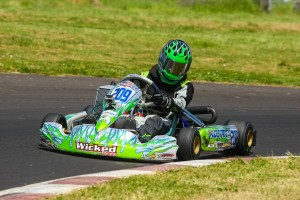 Kyle Wick put himself in championship contention with two wins in Junior Max (Photo: SeanBuur.com)
