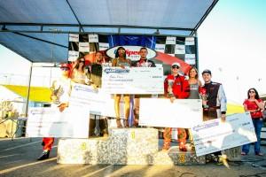 Overall podium (Photo: SeanBuur.com)