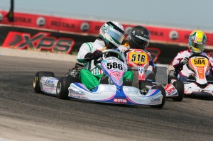 SoCal driver Eric Jackson is perfect so far after day one in DD2 Masters (Photo: Ken Johnson - Studio52.us)