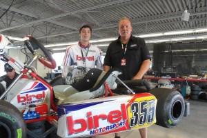 Lane Vacala and Jim Mastandrea from Michiana Raceway Park