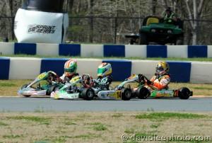 Dylan Tavella looks to get back on the winning track in Yamaha Cadet (Photo: DavidLeePhoto.com)