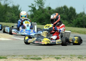 Ryan Norberg was able to escape the Leopard Junior field and earn his first series win (Photo: DavidLeePhoto.com)