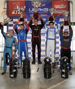 Yamaha Pro championship podium (Photo: DavidLeePhoto.com)