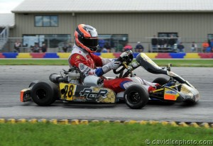 Junior drivers Ryan Norberg (pictured) and Sasha Brun-Wibaux finished third (Photo: DavidLeePhoto.com)