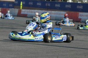 Logan Sargeant is perfect through three days of competition in TaG Junior (Photo: On Track Promotions - otp.ca)