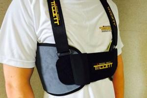 The new Tillett P1 rib protector