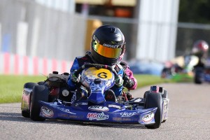 Adam Brickley extended his win streak to eight in Kid Kart following the season finale (Photo: Kathy Churchill - Route66kartracing.com)