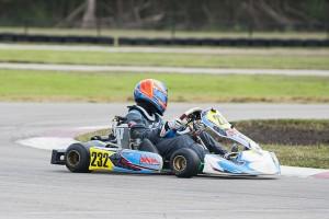 Logan McDonough aims for his third straight Junior Max Championship. (Photo: BigFont Photography)