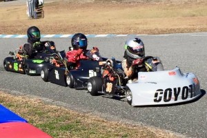 Andrew Willis leads Junior racing at Jacksonville (Photo: Debbie Yarbrough)