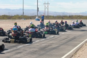 Shifters took the first green flag at the Challenge this weekend in Tucson (Photo: EKN)