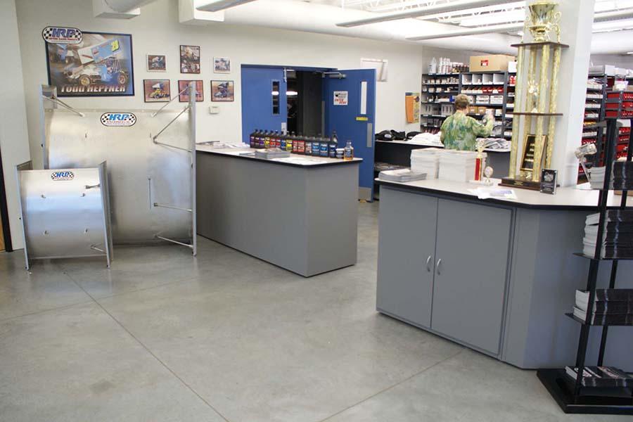 HRP-Streeter-Showroom counter