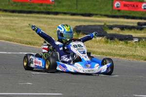 Carson Morgan held on to score his second victory in Micro Max (Photo: SeanBuur.com)