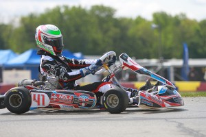 Braden Eves enters Shawano as the driver to beat in IAME Pro (Photo: EKN)