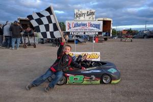 William Younger - 3 time Kart Winner