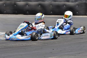 It was another triumph by Cole Keith Cotham in Junior 1 Comer (Photo: KartRacerMedia.com)