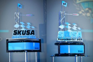 The 'Janowski' and 'Murley' trophies (Photo: On Track Promotions - otp.ca)