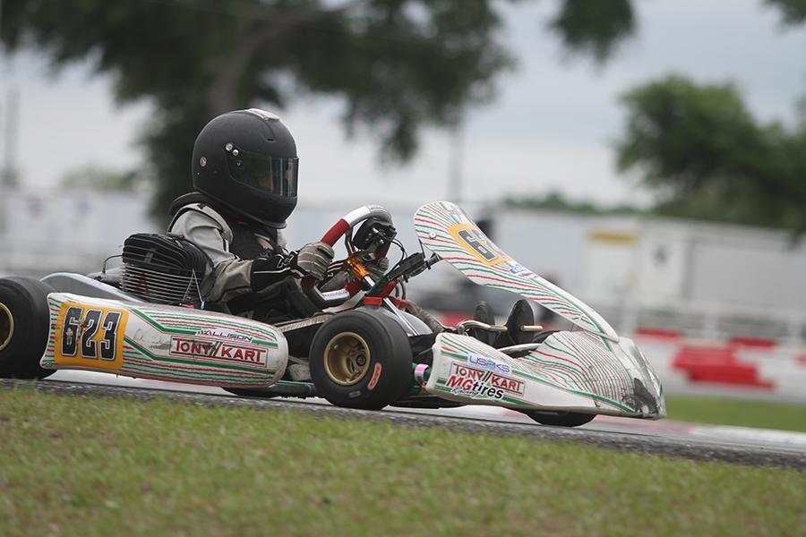 Spencer Lofton won day two of the KA100 Junior (Photo: EKN)