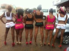 ANCYL Ladies GO CRAZY in the NUDE