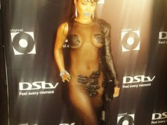Pam Andrews dress at 2014 Channel O Music Video Awards
