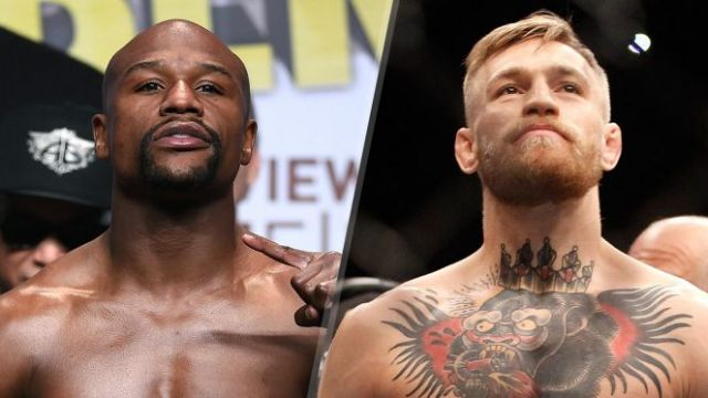 Conor McGregor and Floyd Mayweather Jnr