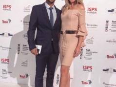 JP Duminy and wife