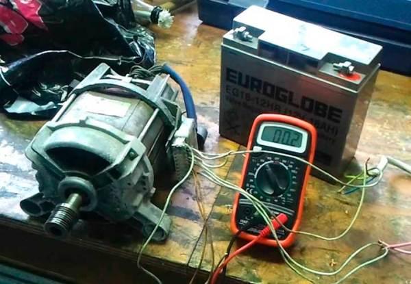 Как сделать генератор из двигателя стиральной машины ...