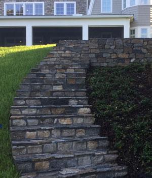 Stone Staircase Masonry