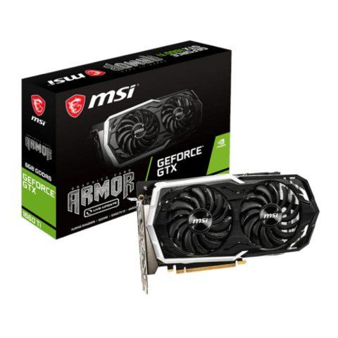 MSI GTX 1660TI ARMOR 6GB