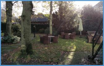 Der Garten - jede Menge Platz zum Spielen