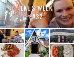 Eke's week #32: Kidscruise, osteopaat en babymeet