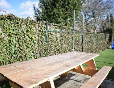 Een leuke achtertuin zonder groene vingers