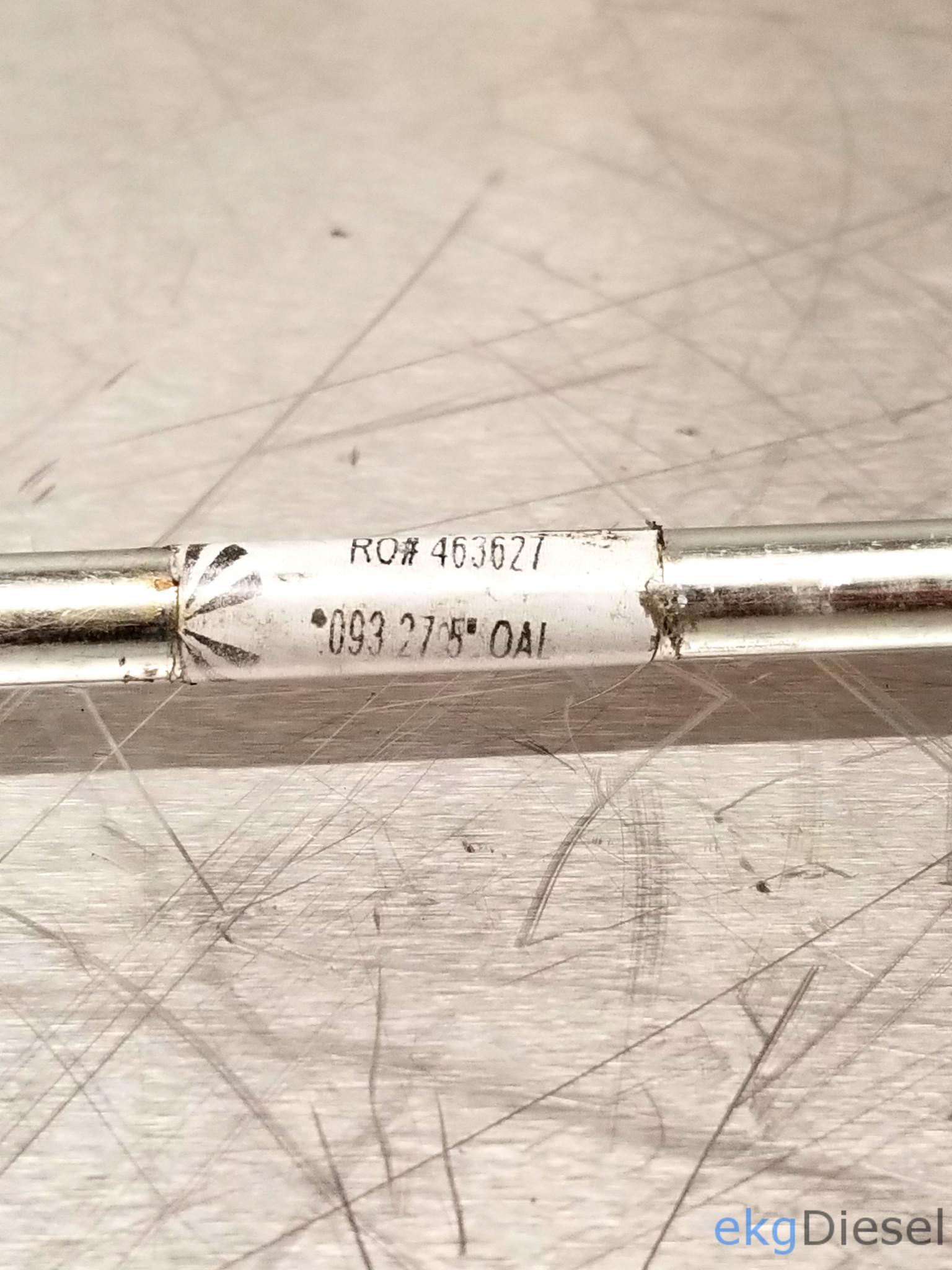 Cummins / Scheid Diesel P-Pump 24 Valve  093 911 Line