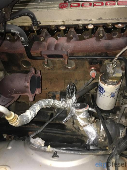 HX35W Turbo installation