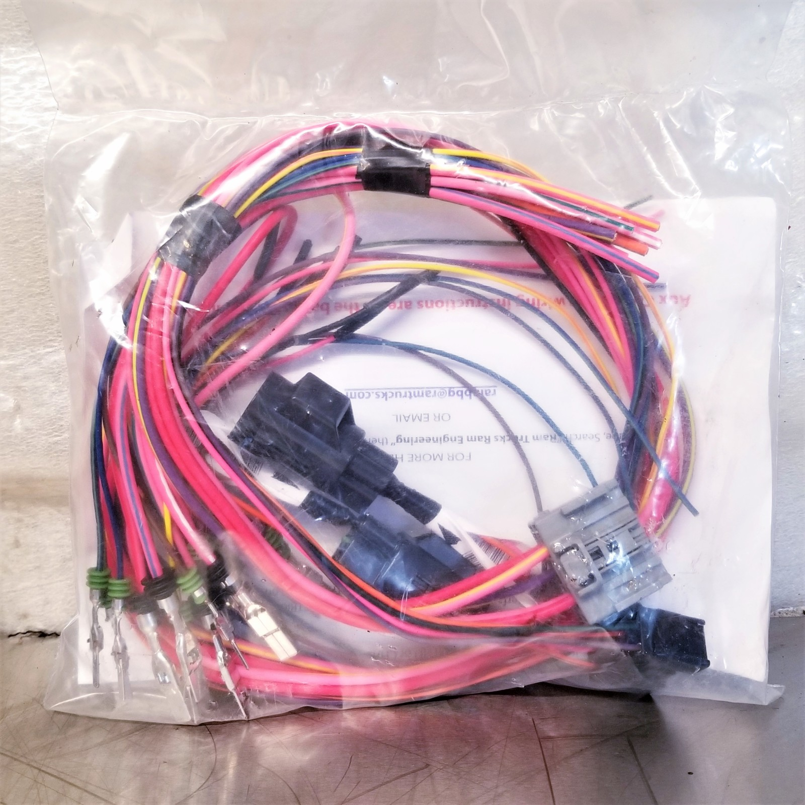 dodge ram upfitter wireing harness
