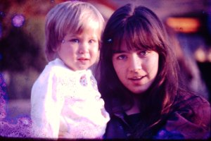 Ellen and Natalie many years ago...