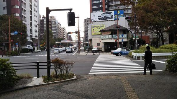 地下鉄高島町駅の「高島町」信号