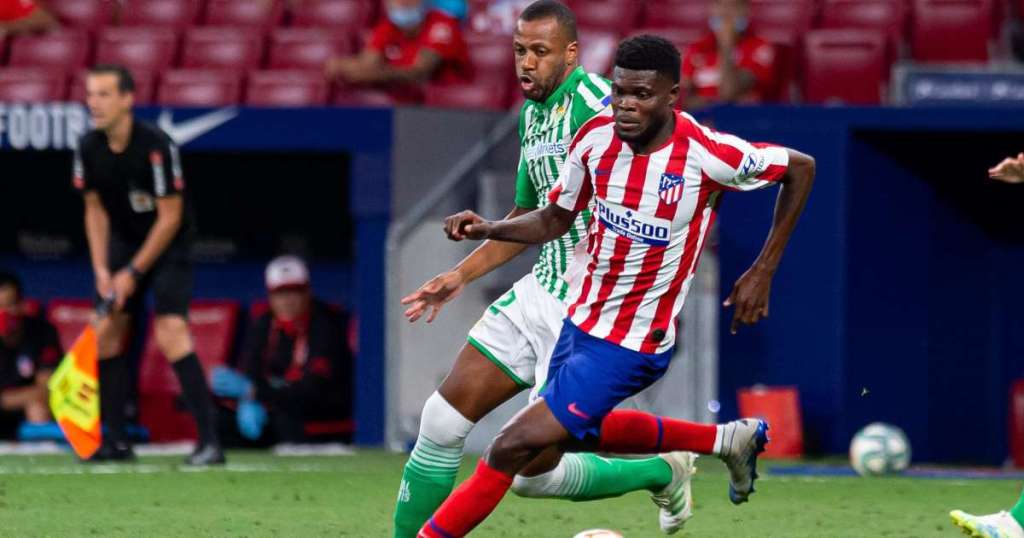 Arsenals second bid for Thomas Partey rejected by Atletico Madrid.img