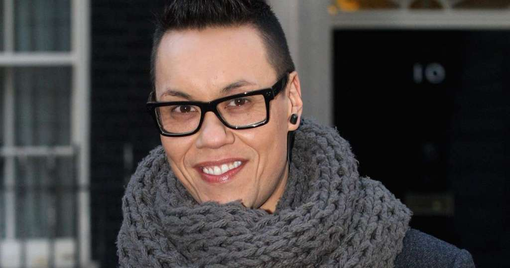 Gok Wan has the most beautiful courtyard in his home.img