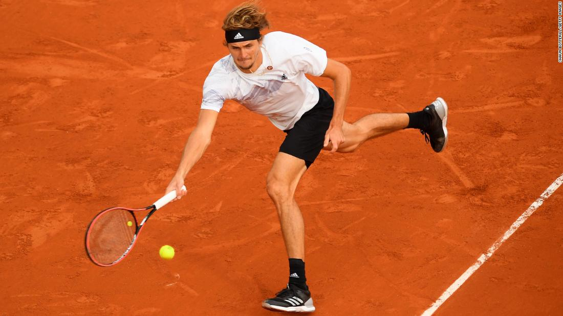 Alexander Zverev: After playing match with Covid-like symptoms, tennis star says he's tested negative