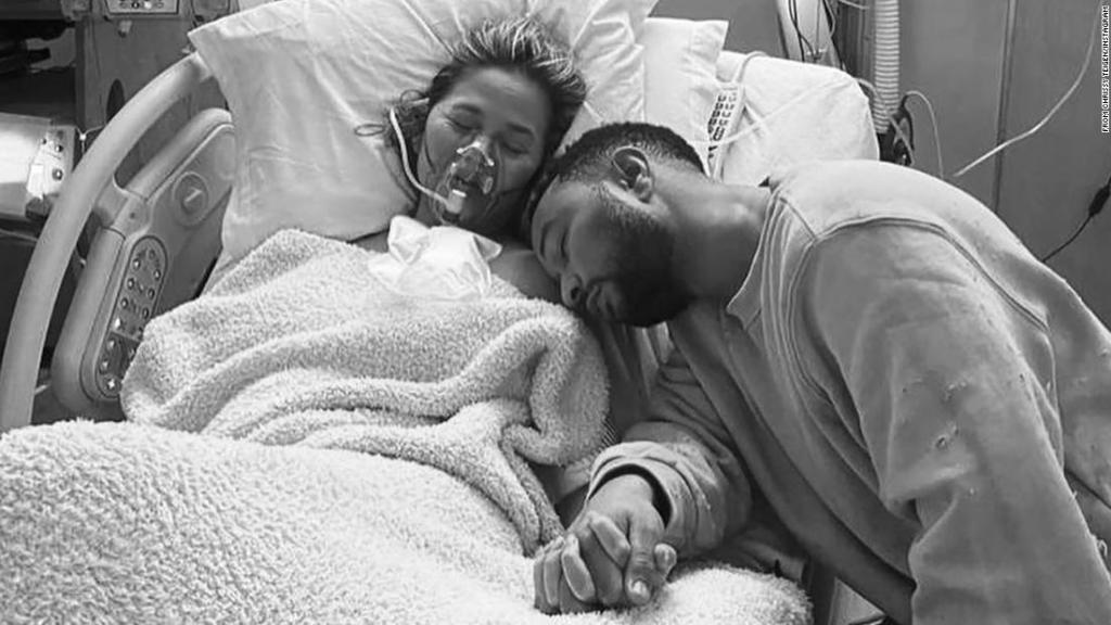 John Legend pays tribute to Chrissy Teigen after the loss of their unborn son