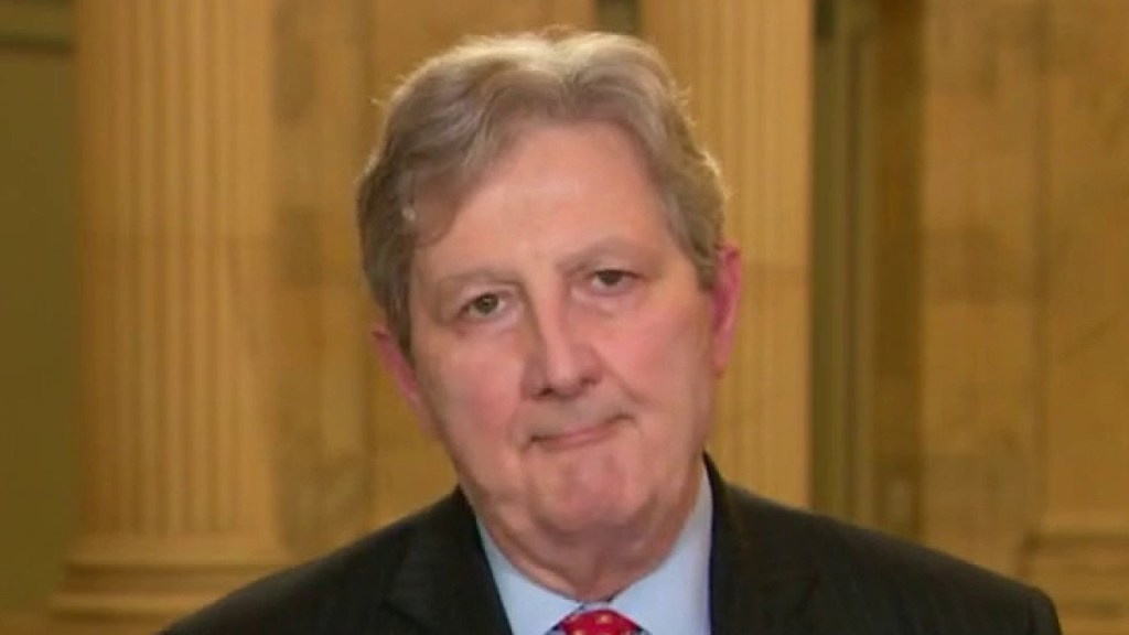 Kennedy knocks Coons, claims Senate Dem called Barrett a liar over election recusal