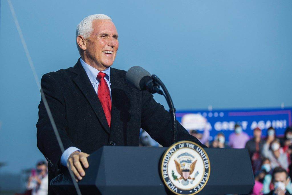 Pence says Biden, Harris should stop playing politics with COVID-19 vaccine