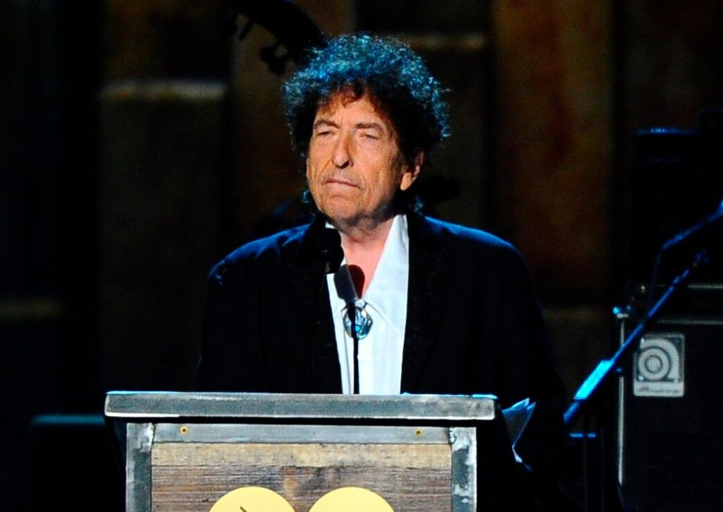 Bob Dylan's unpublished song lyrics and other documents sell for $495G